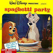 "Film Super 8: La Belle et le Clochard ""Spaghetti Party"""