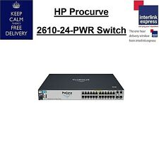 HP Procurve 2610-24-PWR Switch J9087A