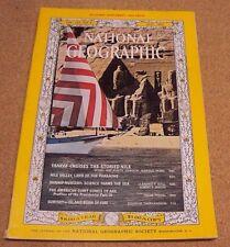 National Geographic May 1965 Nile Valley Pharaoh Shrimp US President Surtsey