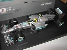 1:18 Mercedes GP W03 N. Rosberg China 1. Win 2012 110120108 Minichamps OVP new