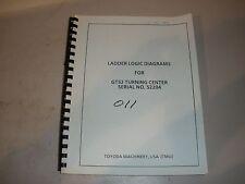 Toyoda Gt52 Cnc Lathe Ladder Logic Diagrams Manual