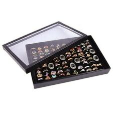 100Slots Ring Lagerung Ohr Pin Display Box Schmuck Veranstalter Halter Case Heiß
