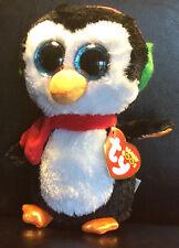W-F-L TY Boos North Pinguin 15 cm  Weihnachten  Glubschi  Boo´s  Glitzeraugen