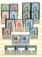 Luxus Europa Union - CEPT Sammlung 1956-1969 ** postfrisch