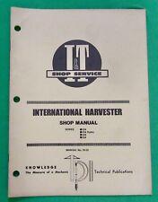I Amp T Ih 55 Ihc Shop Manual For 234 234 Hydro 244 254 Series Tractors