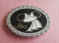 MRS Wedding Ear Hats - Disney Pin