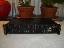 Roland SIP-301, Bass Guitar Preamp Compressor Equalizer Crossover, Vintage Rack
