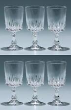 6 Cristal d`Arques Kelchgläser LOUVRE 13,7 cm         #93044z