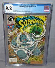 SUPERMAN: THE MAN OF STEEL #18 (Doomsday 1st app) CGC 9.8 NM/MT DC Comics 1992