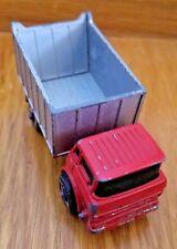 1960's Matchbox Lesney No. 26 GMC Tipper Truck - 1/64 England Red Green Silver