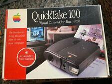 Vintage Apple QuickTake100 Digital Camera - original box