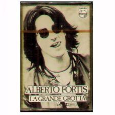 "ALBERTO FORTIS "" LA GRANDE GROTTA "" MC MUSICASSETTA SIGILLATA K7"