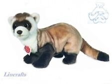 Ferret Plush Soft Toy by Teddy Hermann from Lincrafts. 92637