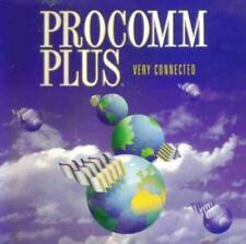 ProComm Plus 3.0 w/ Manual PC remote control files faxing emulation fax tools