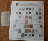 M32 Lot of Austria Osterreich Stamps on 10 Minkus binder Pages