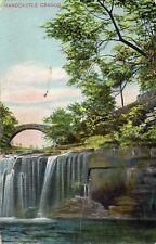 Lumb Falls - HARDCASTLE CRAGGS - Yorkshire - 1912 Original Postcard (56)