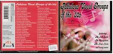 1825 - CD -  FABULOUS VOCAL GROUPS OF THE '50S