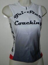 New Verge Women's Strike Sleeveless Cycling Jersey White Size M