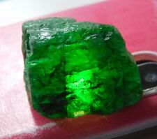 40.80Cts. Natural Green Colombian Emerald Gemstone Mineral Rough -J