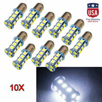10x BAY15D 1157 5050 18-SMD Car Auto LED Turn Signal Light Tail Brake Lamp Bulb