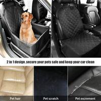 Impermeable Coche Mascota Gato Perro Protector Funda de Asiento Cubierta Cesta