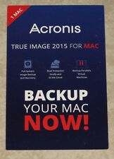 Acronis True Image 2015 For Mac Key Card -- FREE Shipping Included!