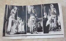 1978 The Rolling Stones Mick Jagger Live Vintage 6.5x11 Ap Press Photo