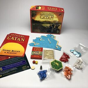 The Settlers of Catan 3061 2012 4th Edition Klaus Teuber Mayfair Board Game Home