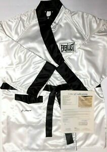 JSA Full LOA Muhammad Ali Cassius Clay signed / autographed Everlast Boxing Robe