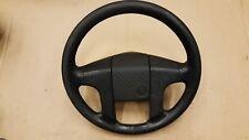 VW GOLF JETTA MK1 MK2 CORRADO PASSAT B3 LEATHER STEERING WHEEL LENKRAD