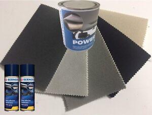Kit rivestimento tessuto sottotetto per cielo tetto auto originale + colla spray