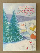 """A Christmas Prayer"" Christian Christmas Card By DaySpring~6 3/4"" X 4 3/4"", NEW!"