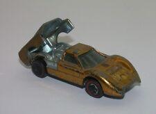 Redline Hotwheels Gold 1968 Ford J Car oc15424