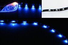 2 x Blue 60CM 30SMD Side Glow Side-emitting Side Shine Flexible LED Strip Ligth
