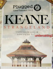 SPORT B. PLUGGED KEANE Strangeland 2012 Taipei Live Concert Taiwan Promo Poster