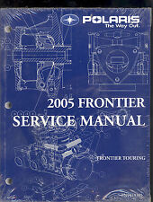 2005 POLARIS FRONTIER SNOWMOBILE SERVICE MANUAL / PN 9919305