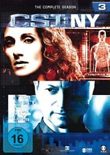 CSI : NY NEW YORK DIE KOMPLETTE DVD SEASON / STAFFEL 3 DEUTSCH