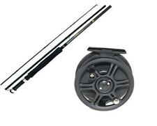 2.6 Metre(8.5ft) 3 piece Carbon Fly fishing rod and Fly reel, new