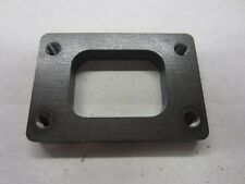TURBO INLET FLANGE T2 T25 TURBO LASER CUT 12MM DRILLED AND TAPPED M8X1.25