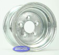Boat Trailer 5 Lug 10 Inch x 6 Inch Galvanized Wheel 5 on 4 1/2 Bolt Pattern