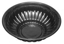 Douglas Stephens 2112Bk 112oz Black Bowl 6-8 lb.capacity - 50 bowls/case
