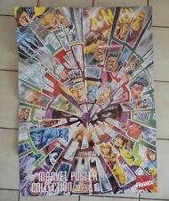 Comics Français  MARVEL FRANCE  POSTER  the marvel collection  N° 10/12    mar26