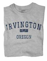 Irvington Oregon OR T-Shirt Portland EST