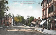 Broadway looking South fr Main St Tarrytown-on-Hudson Westchester County NY 1907