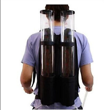 New Acrylic Backpack Dual Dispenser For Beer Drink Liquid Shot Pump Gun PUB b