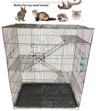 "36"" Large 4-Level Ferret Guinea Pig Hamster Sugar Glider Rat Mice Degu Cage"