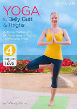 Yoga for Belly, Butt and Thighs with Chrissy Carter (DVD, 2014) New/Sealed B202
