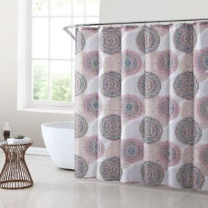Mainstays Cayden 70x72 Polyester Shower Curtain Set, 13 Piece