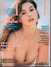 Elle French Fashion Magazine 3 Aout 1998 Monica Bellucci 091819AME2