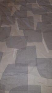 LARSSON fabric, Smoke - 2480mm 100% cotton